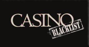 Online casino Casino blacklist